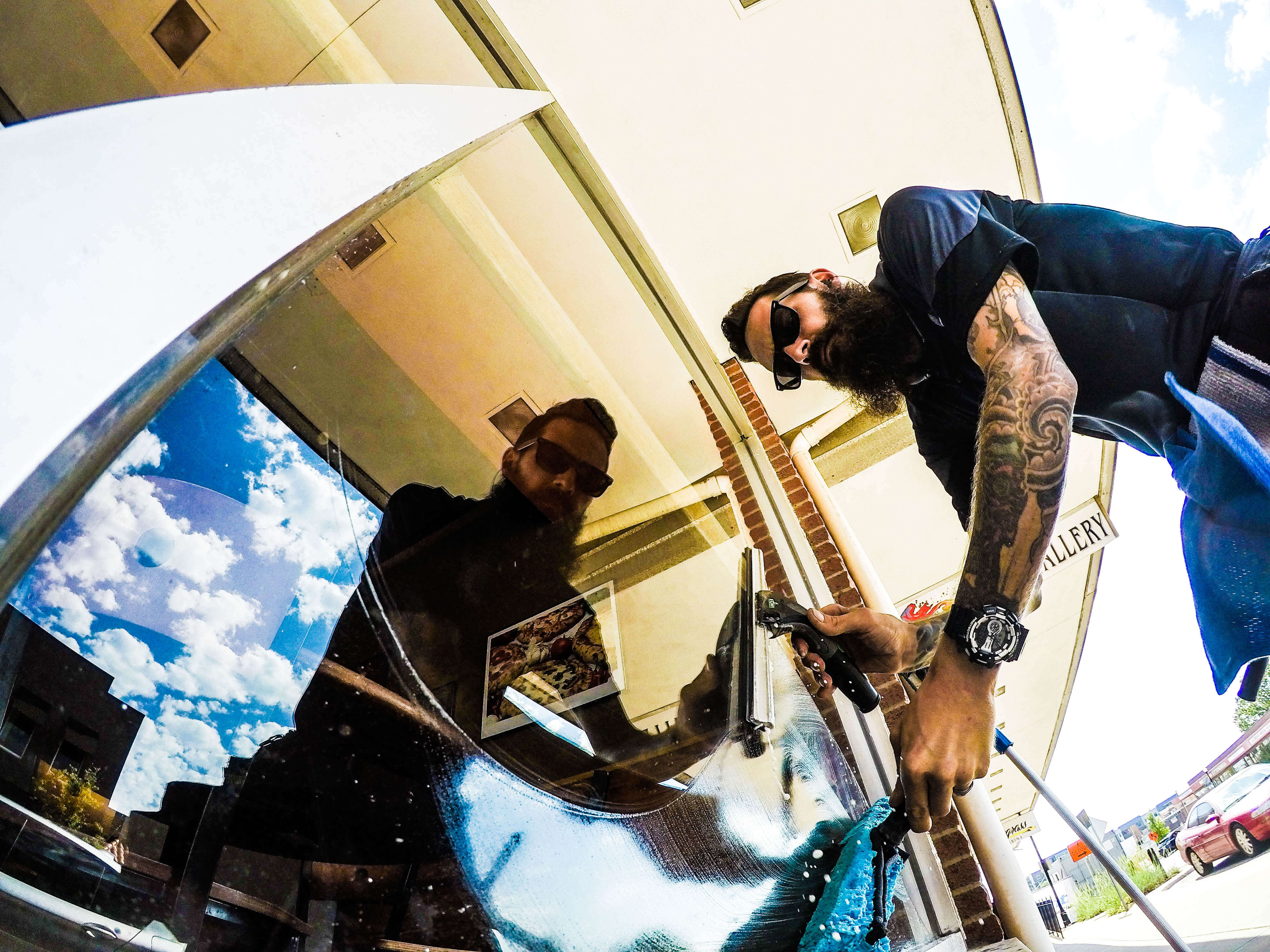 Storefront Window Cleaning Service in Kansas City, MO