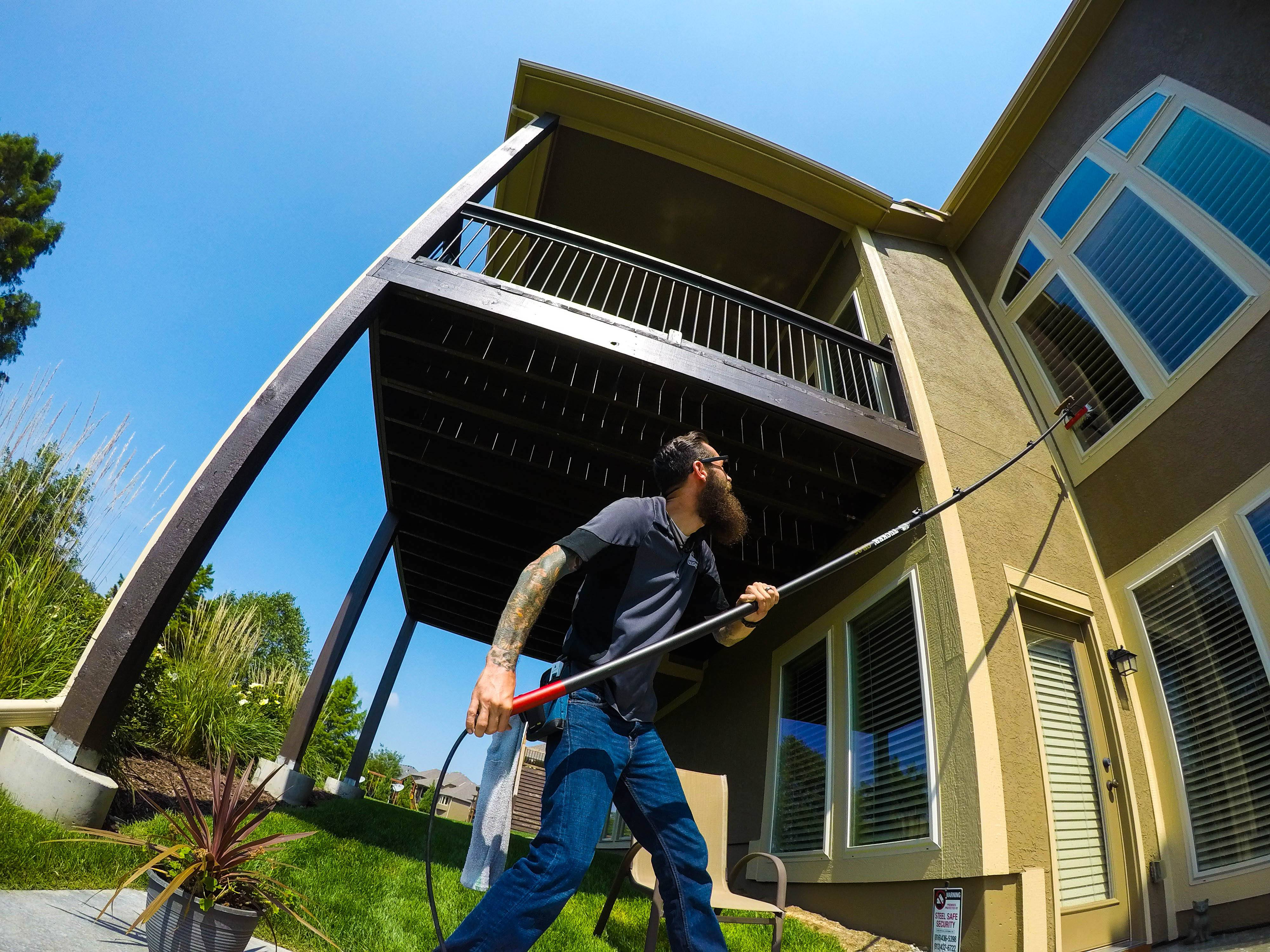 Residential Window Cleaning in Kansas City, MO